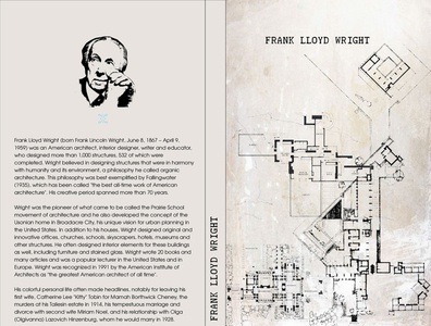 Poetry of Lines  Frank Lloyd Wright