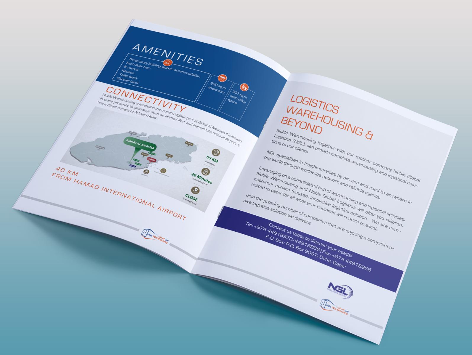 2 Page Brochure >> Brochure Inner Page 2 By Jaynal On Dribbble