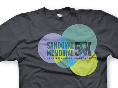 Ovarian Cancer 5k Tee awareness run 5k women woman ribbon cancer t-shirt shirt tee tshirt