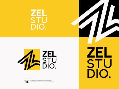 Zel visual identity minimal illustrator design logo design logodesign logo graphic branding