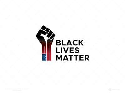 Black Lives Matter social justice justice george floyd equality blm black lives black lives matter black shutterstock typography vector design american humanity human right breathe americans