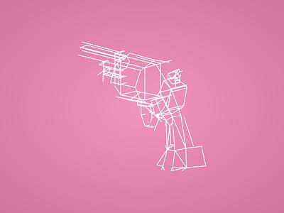 Some Pistols wireframes pistol