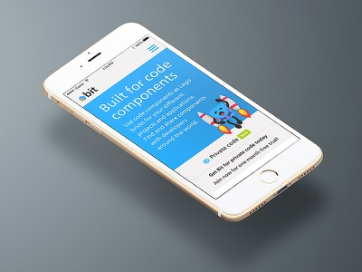 This sh$t be mobile mobile homepage bitsrc