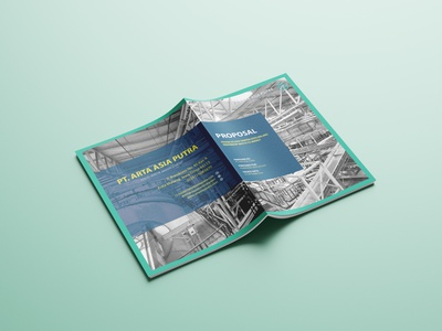 Cover Proposal Solid Waste Management Company proposal design advertising branding design