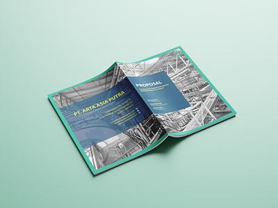 Cover Proposal Solid Waste Management Company proposal design advertising branding design