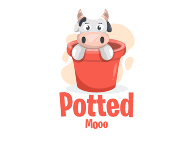 potted moo