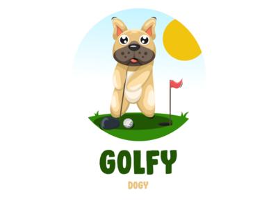 Golfy dog