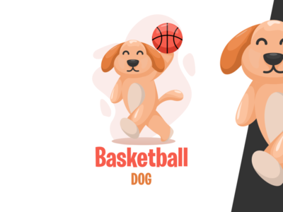 Basketball dog