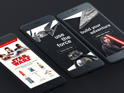 Star Wars' Force Friday Homepage Takeover