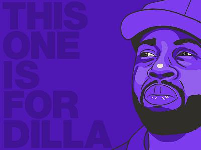 This One Is For Dilla purple sampling detroit pdx portland portrait producer beatmakers hip-hop jaydee dilla j dilla