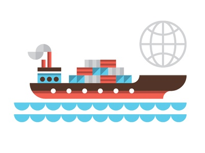 UPS atlanta editorial ocean shipping global boat logistics freight cargo ship ty wilkins