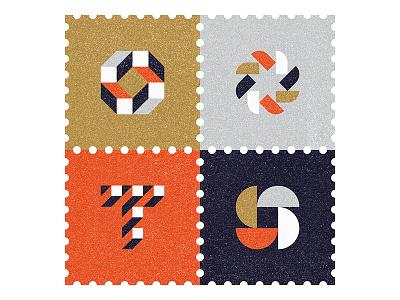 Studio Stamps stamps icons logo ty design symbol