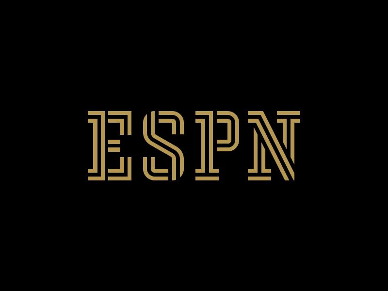 Espn lettering