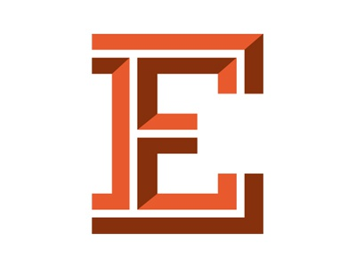 Friends of Type friends of type e inline slab serif orange