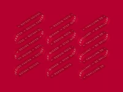 ABBYY red cinema 4d cinema4d 3d video animated gif illustration animation branding design nimax