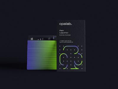 CPA Lab visiting card design visit card illustration branding design nimax