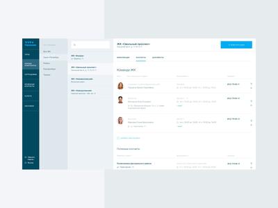 YIT appartment service design service simple blue interface ux ui webdesign web animation design nimax