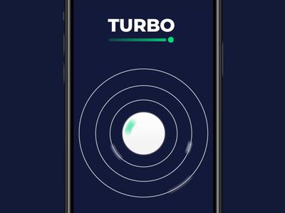 TURBO loading animation loading icon loading bar loading screen vector illustration branding design nimax