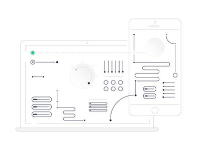 TURBO service mechanism system vector gif branding animation design nimax