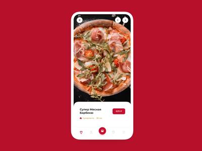 Pizza Hut delivery app food app app design pizza pizza hut ux interface ui webdesign web animation design nimax