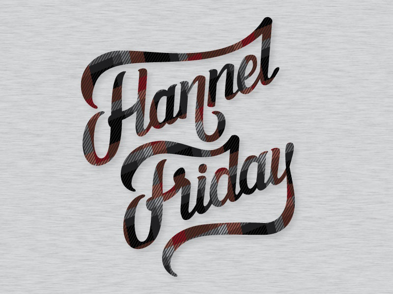 flannel friday by kyle loaney on dribbble
