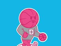 Dribbble mascot ig