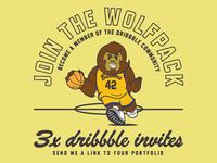 Teen Wolf Dribbble Invite