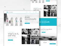 Water homepage