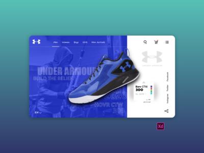 Underarmour Website Redesign