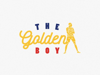 The Golden Boy paris mbappe goldenboy psg illustration logo illust graphic footballlife football designs design football