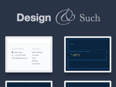 Development  design  ux   eric d. fields