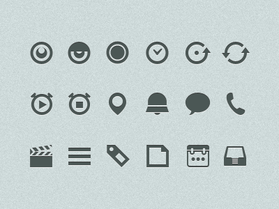 Todo app - Iconset