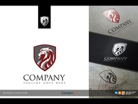 Lion Head Logo 3 version