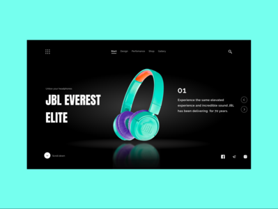 JBL headphones shop