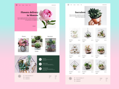 Plants Shopping Website