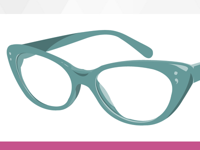 Sass-Lang.com sass teamsassdesign glasses sassy illustration