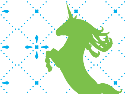 Professor Unicorn unicorn institute unicorn pattern vector illustration wip work in progress