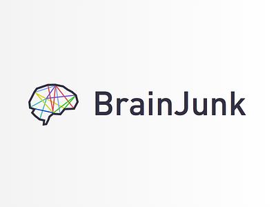 BrainJunk branding brainjunk din geometric