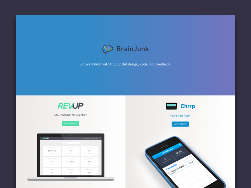 Brainjunk site
