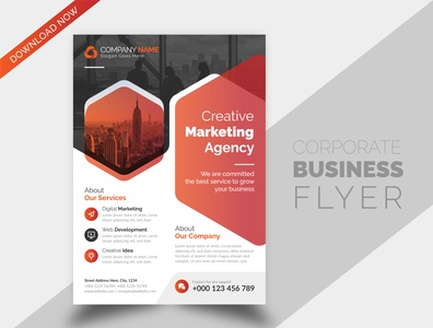 Creative Simple Corporate Business Flyer Brochure Desig Template unique unicorn creative design brand identity flyer brochure design flyer design corporate businessflyer corporate flyer business flyer design business brochure cover brochure branding brand best flyer templates design