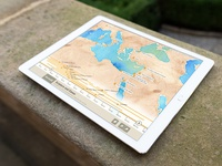 Angle View Of Ipad Pro Landscape