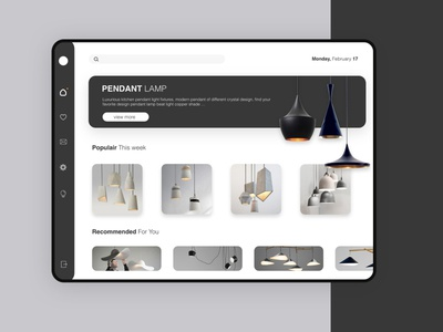 Lamp e-commerce app