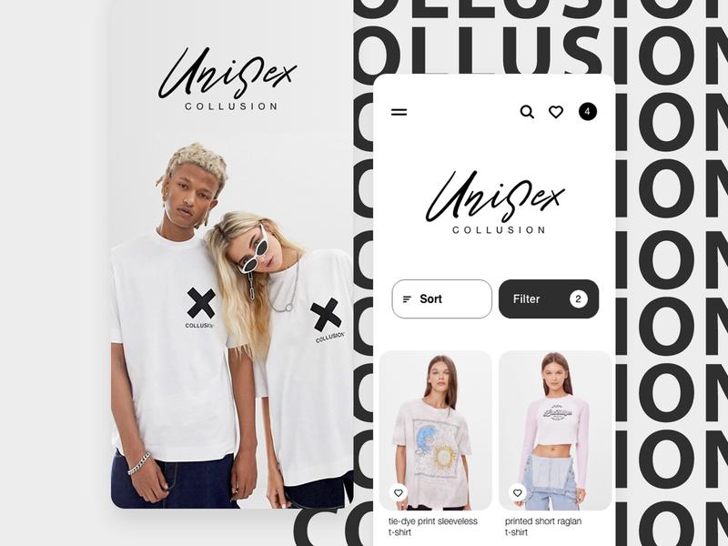 Fashion UI fashion app mobile ui photography photo model mobile app design mobile app mobile fashion black