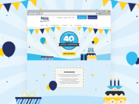 Nisa 40th Birthday