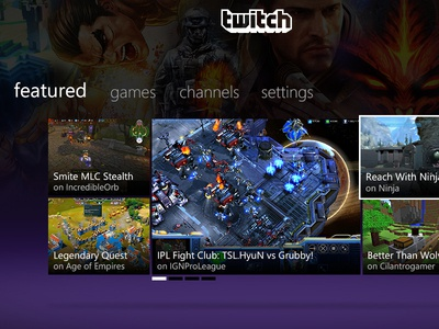 Twitch Xbox 360 App twitch xbox xbox 360 twitch.tv streaming games video games broadcast exports gamers
