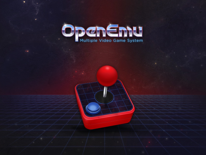 OpenEmu Is Out! openemu interface ui video games games emulator open source application icon retro grid