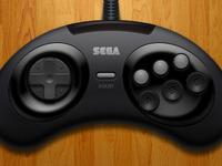 Genesis / Megadrive (6 Button) Controller