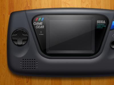 Sega Game Gear video games retro openemu emulation controller sega game gear