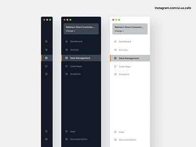 Sidebar Navigation sidebar navigation sidebar illustration webdesign landingpage uxdesign appdesign uidesign ux ui