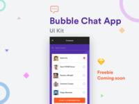 Bubble Chat App - Freebie